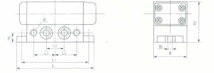 气动阀-二位五通换向阀/气动换向阀k25系列(k25d-25)